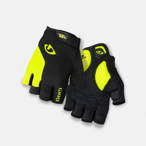 Giro Strade Dure Supergel Gloves - Black/Highlight Yellow
