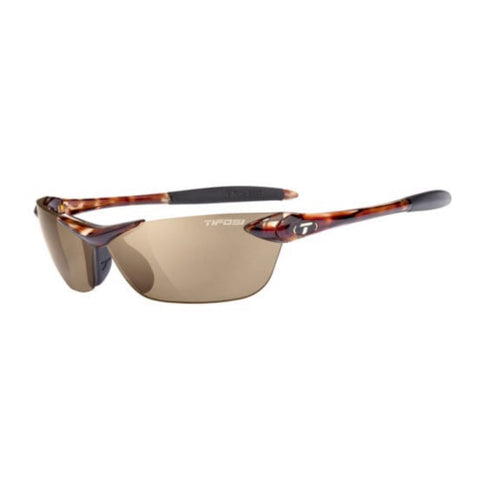 Tifosi Seek Tortoise Sunglasses - Brown Polarized Lens