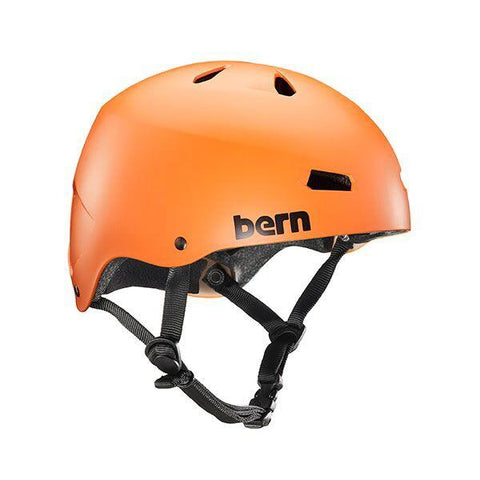 Bern Team Macon Helmet - Matte Orange