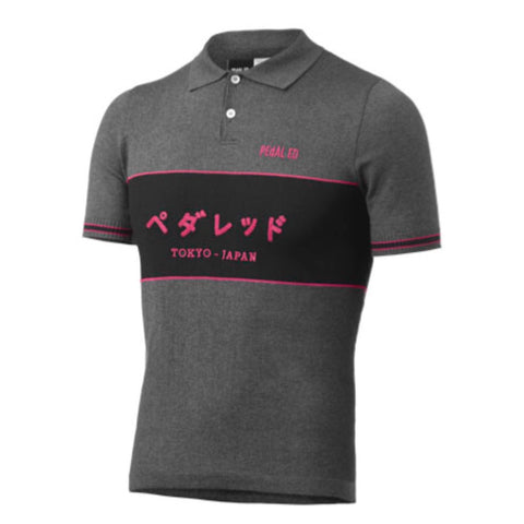 PeDAL ED Osaka Riding Polo - Pink