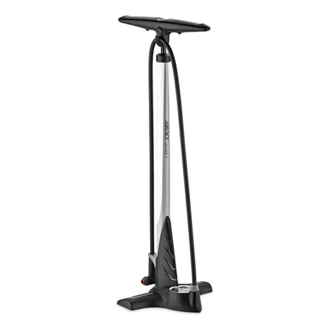 Airace Veloce P Steel Floor Pump - White