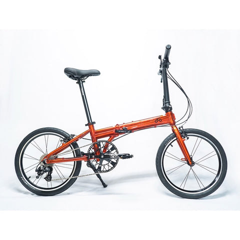 Flock OTD 20 version 2.0 - 9 Speed Folding Bike - Metalic Orange