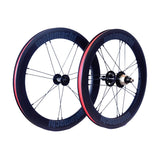 Motomachi 2 Speed carbon wheelset With Ceramic Bearing - Grey Decal