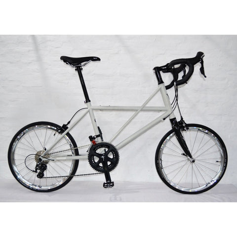 Tyrell CX Minivelo (Drop Bar/Shimano 105) - Hazy Light Grey Matte
