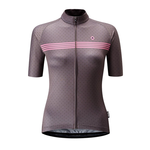 Chapeau! Madeleine Polka Stripe Woman Jersey - Light Shadow