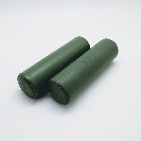 Benheil Brompton Leather Hand Grip - Olive Green