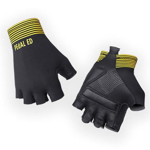 PeDAL ED Lightweight Gloves - Yellow