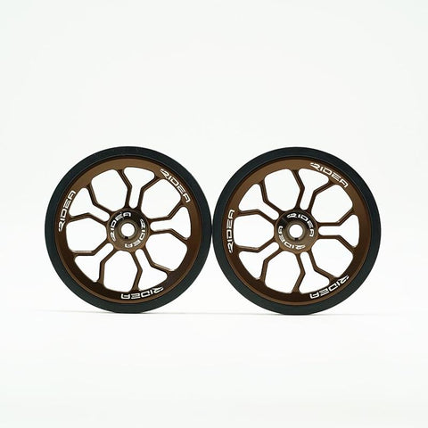 Ridea ESEW2-BK Brompton Oversized Easy Wheel - Copper (2pcs)
