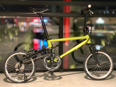 Tyrell IVE Sports Folding Bike - Sulfur Yellow
