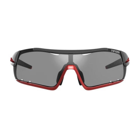 Tifosi Davos Race Red Sunglasses - Smoke Fototec Lens