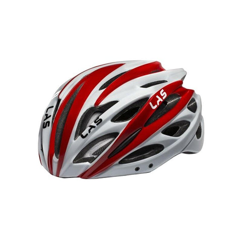 LAS Voyager Helmet - Red/White
