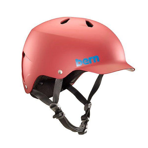 Bern Watts Helmet - Matte Red
