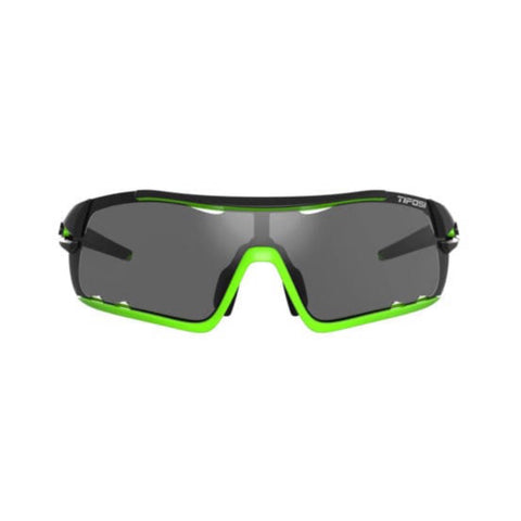 Tifosi Davos Race Neon Sunglasses - 3 Lenses: Smoke/AC Red/Clear