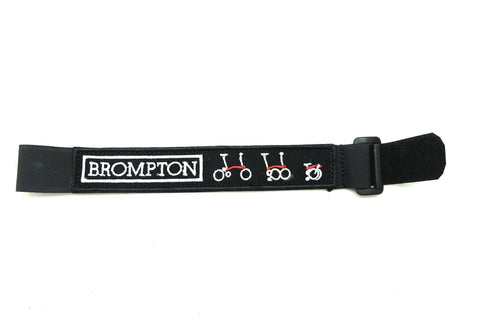 Caca Strap Wheel for Brompton - Black