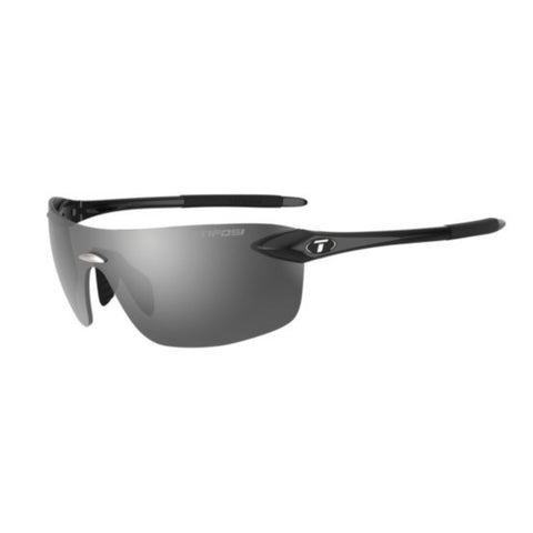 Tifosi Vogel 2.0 Gloss Black Sunglasses - Smoke Lens