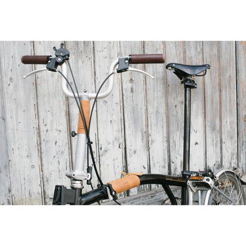 Souma Leather Brompton Frame & Stem Cover - Topaz