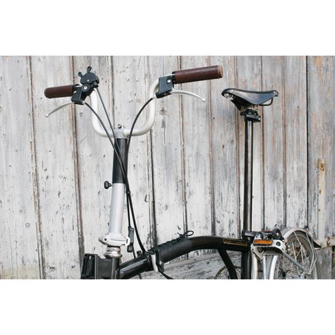 Souma Leather Brompton Frame & Stem Cover - Black