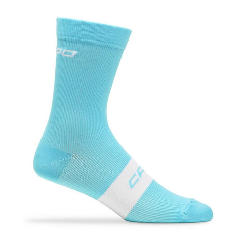 Capo Active Compression 15cm Sock - Light Cyan