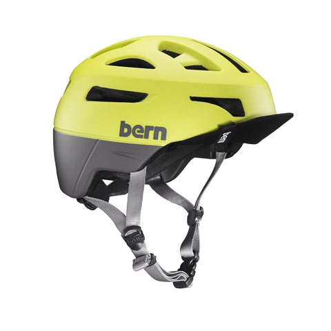 Bern Union Helmet - Matte Neon Yellow