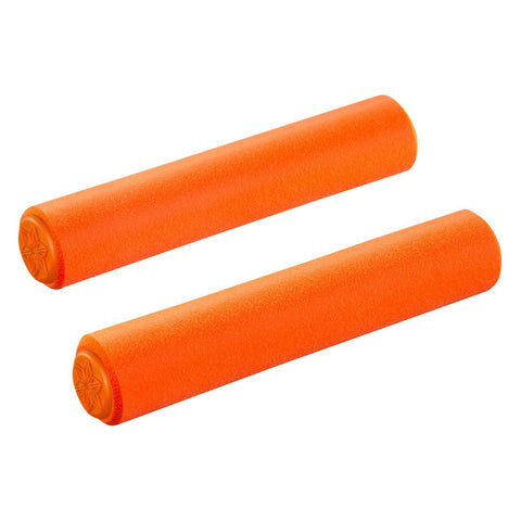 Supacaz Silicones Grips - Neon Orange