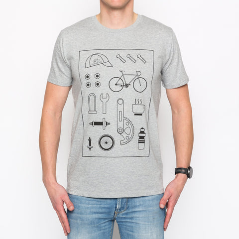 Peloton de Paris Bike Parts T-Shirt
