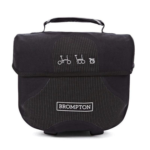 Ortlieb Brompton Mini O Bag - Reflective Black