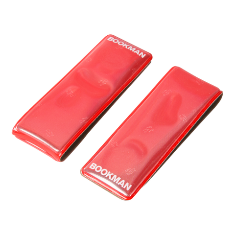 Bookman Clip-on Reflector - Red