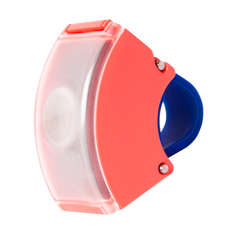 Bookman Curve Front Light - Neon Coral Pink/Dark Blue