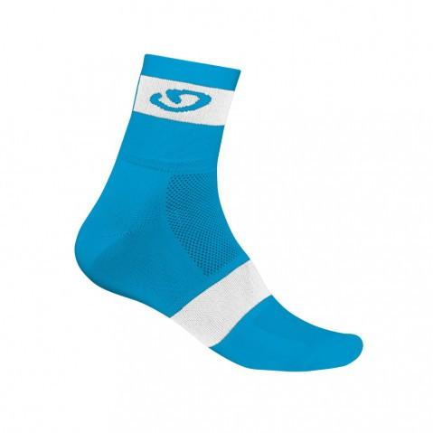 Giro Comp Racer Socks - BlueJewel/White