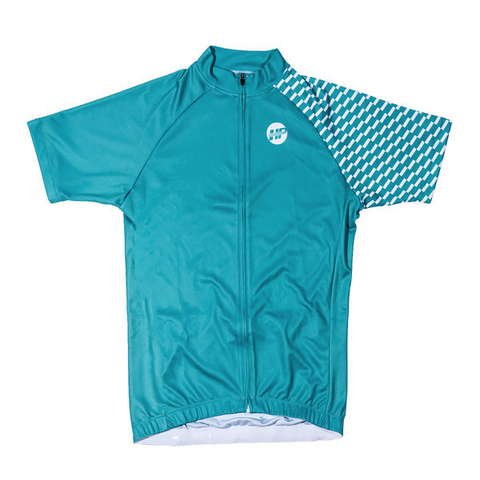 Heavy Pedal Turq Jersey
