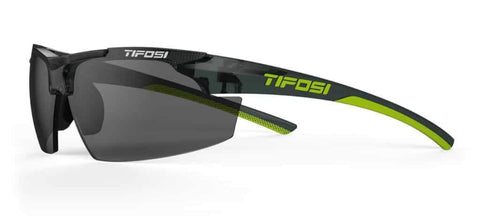 Tifosi Track Crystal Smoke Sunglasses - Smoke Lens
