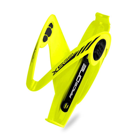 RaceOne X5 Gel Bottle Cage - Yellow Fluo/Black