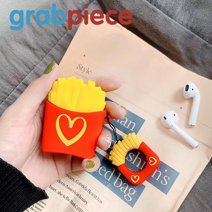 AirPods Case-Food Creative Soft Silicone