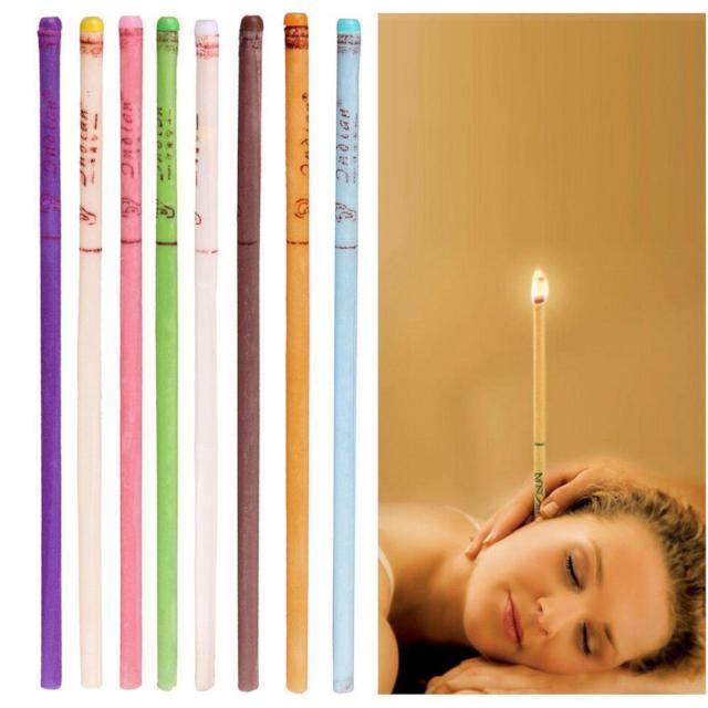 Ear Candle -Relieves Stress and Headaches