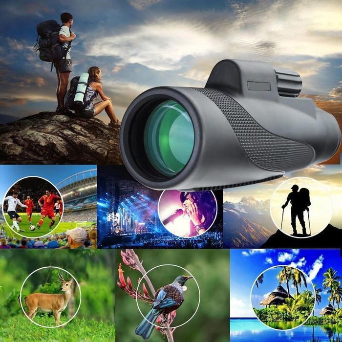 WATERPROOF 16X52 HIGH DEFINITION MONOCULAR TELESCOPE-BAK4 PRISM