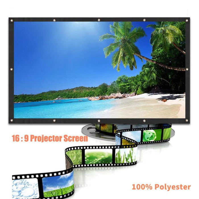 120in LED Projector Screen For Home Theater