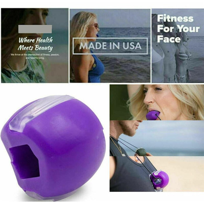 Facial Toner Jaw Exerciser And Neck Toning Equipment