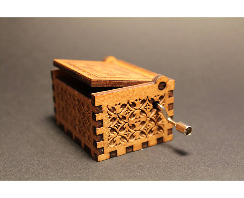 Engraved Handmade Wooden Music Box - Game of Thrones