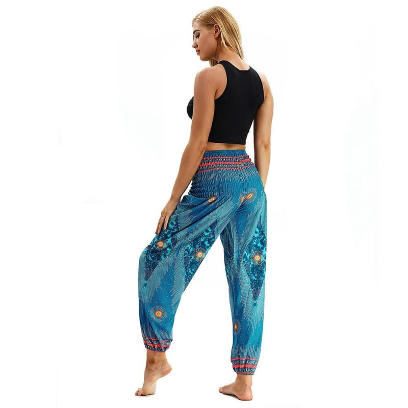 Sync With The World Hippie Harem Yoga Pants