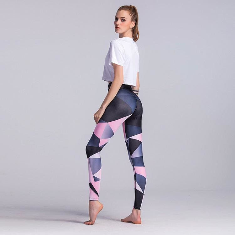 Prism Pink Fitness Leggings