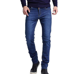 Casual Slim Straight High Elasticity Feet Jeans