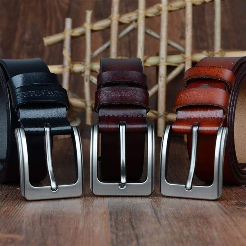 Cowhide Genuine Leather Belts