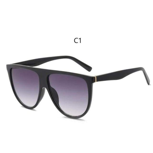 Flat Top Sunglasses - C1