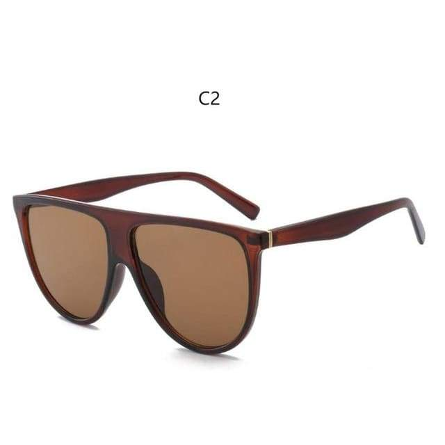 Flat Top Sunglasses - C2