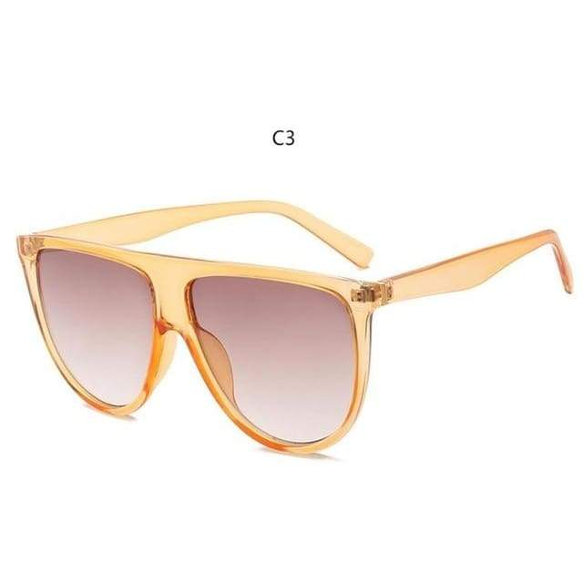 Flat Top Sunglasses - C3