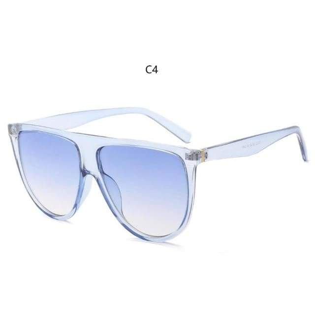 Flat Top Sunglasses - C4