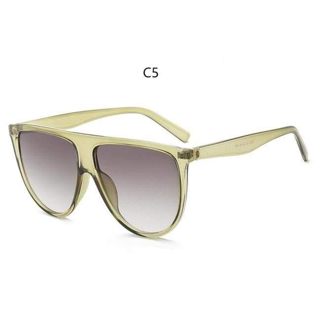 Flat Top Sunglasses - C5
