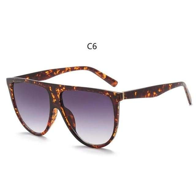 Flat Top Sunglasses - C6