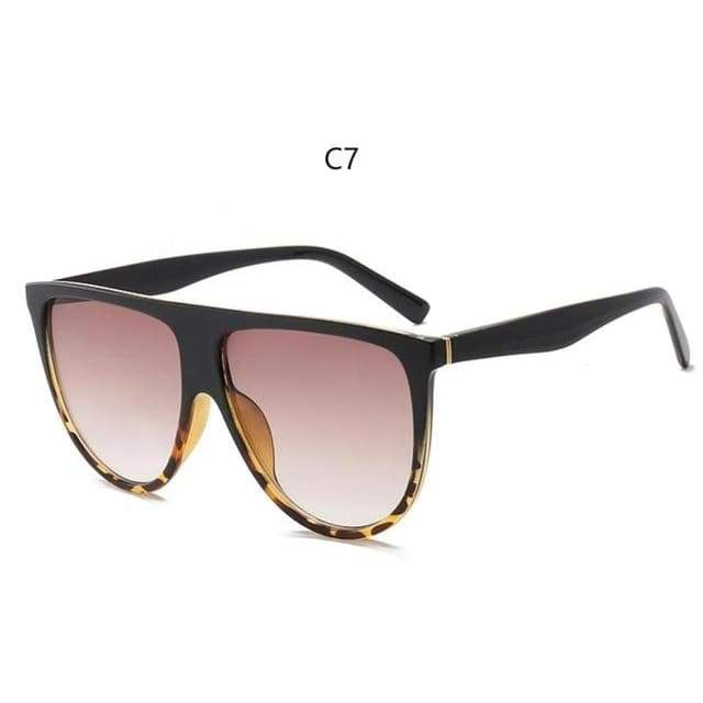 Flat Top Sunglasses - C7