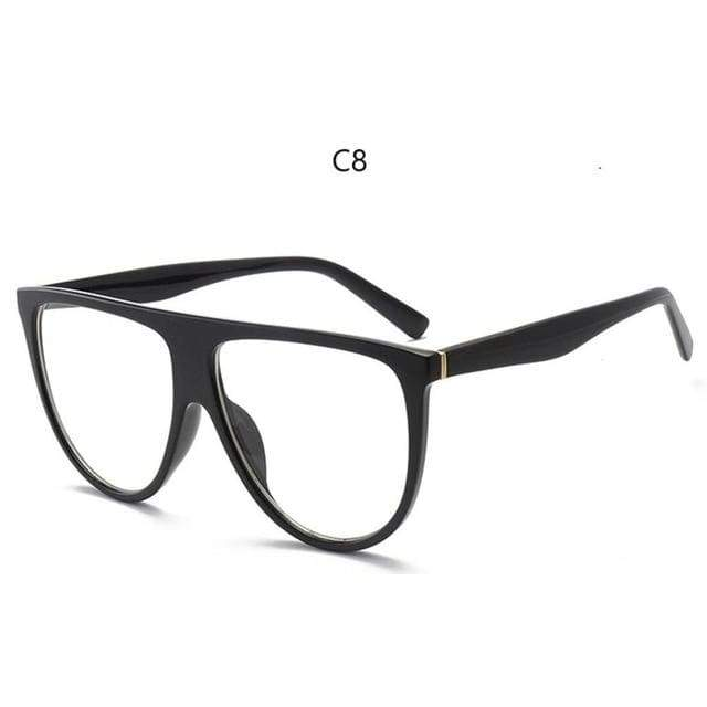 Flat Top Sunglasses - C8
